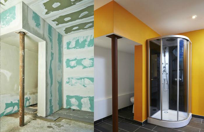 שיפוץ חדר אמבטיה לפני ואחרי